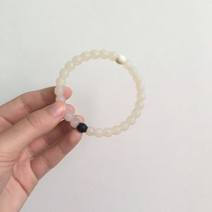 Clear Lokai bracelet